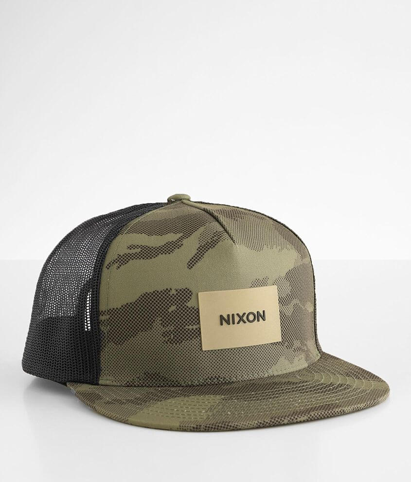 Nixon Team Trucker Hat front view
