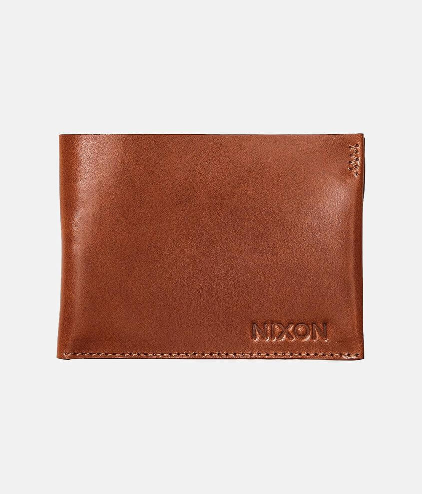 Nixon Cache Leather Wallet front view