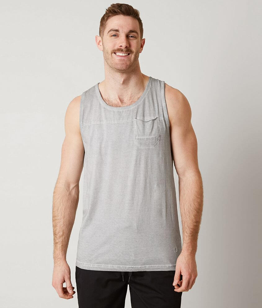Outpost Makers Washed Tank Top front view