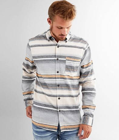 North River® Striped Flannel Shirt
