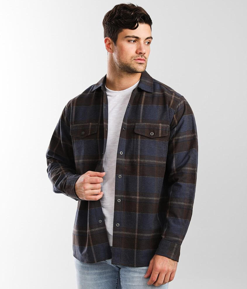 North River® Flannel Moleskin Shirt front view