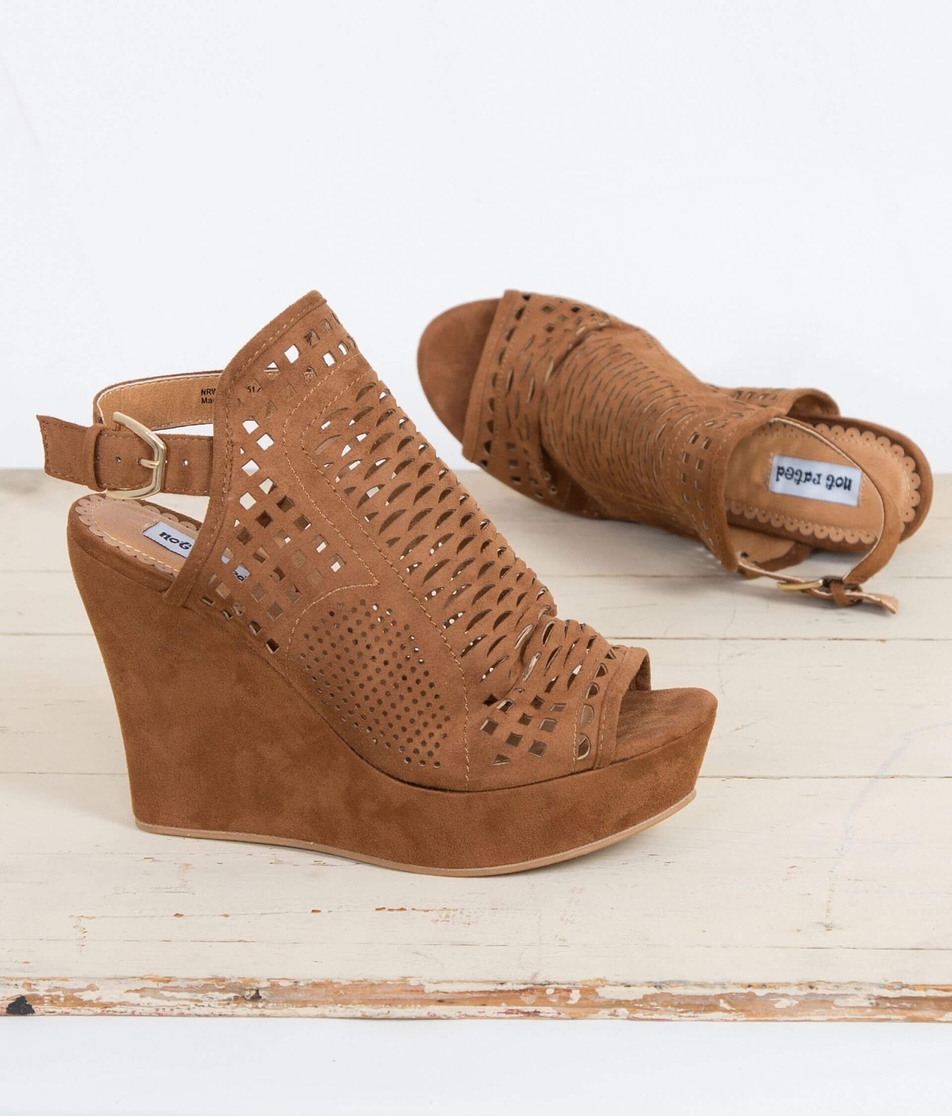 22d24a201b3bb Not Rated European Cafe Wedge Sandal - Women's Shoes in Tan | Buckle