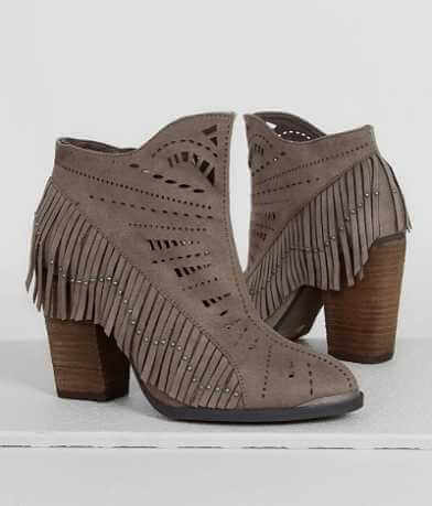Not Rated Fierce Fringe Ankle Boot