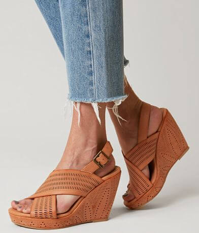 Not Rated Leafy Wedge Sandal