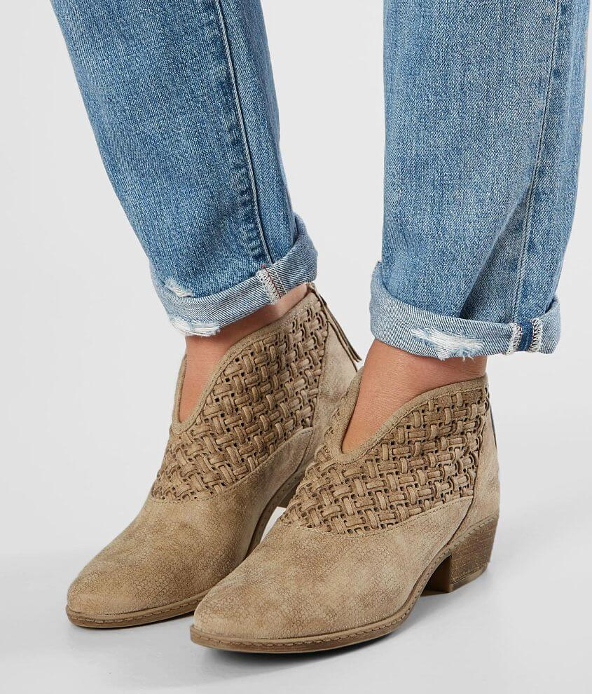 Not Rated Petra Weaved Ankle Boot front view