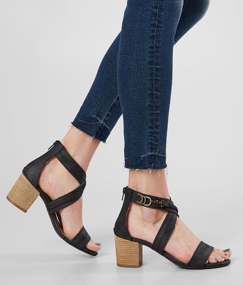 Not Rated Qila Heeled Sandal front view