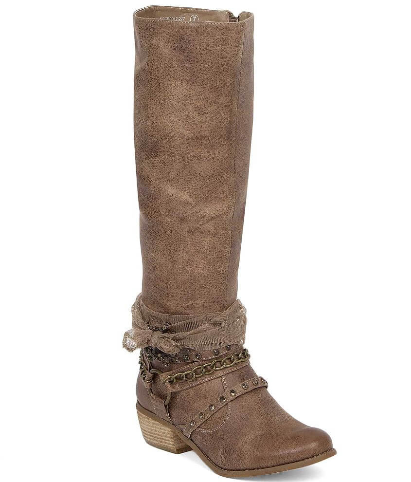Not Rated Tutsan Riding Boot front view