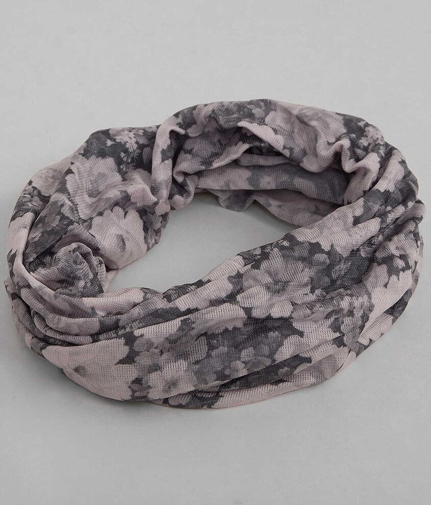 BKE Floral Headband front view