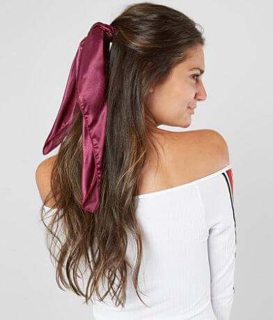 BKE Solid Hair Scarf Scrunchie Set