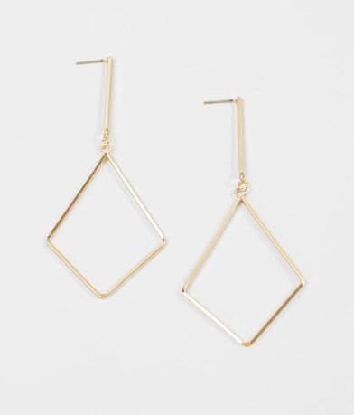 BKE Geometrical Drop Earring