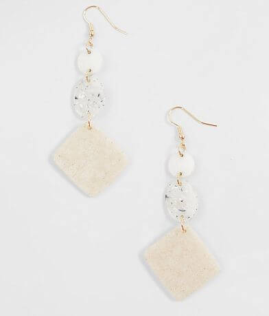 BKE Tiered Resin Earring