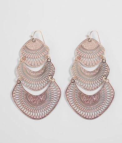 BKE Tiered Filigree Earring