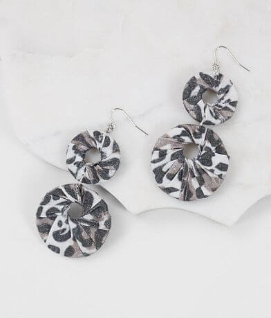 BKE Animal Print Earring