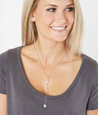BKE Howlite Y-Necklace