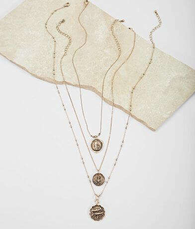 BKE Coin Necklace Set
