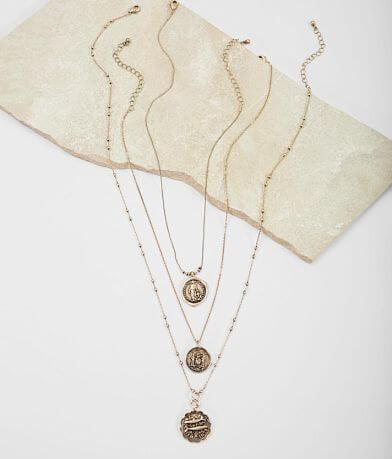 BKE Coin Necklace Set
