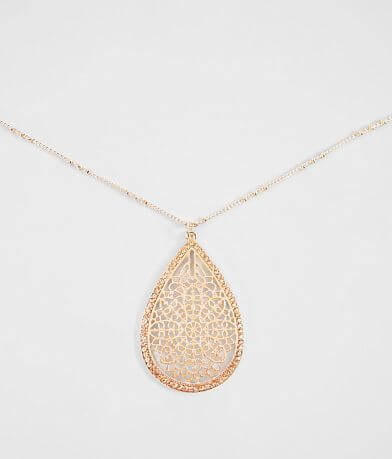 BKE Filigree Glitz Necklace