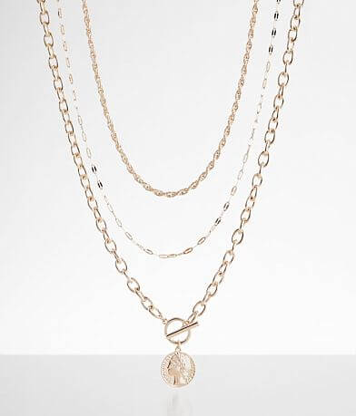 BKE Chain Necklace Set