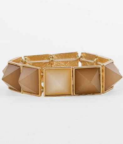 BKE Pyramid Stone Bracelet