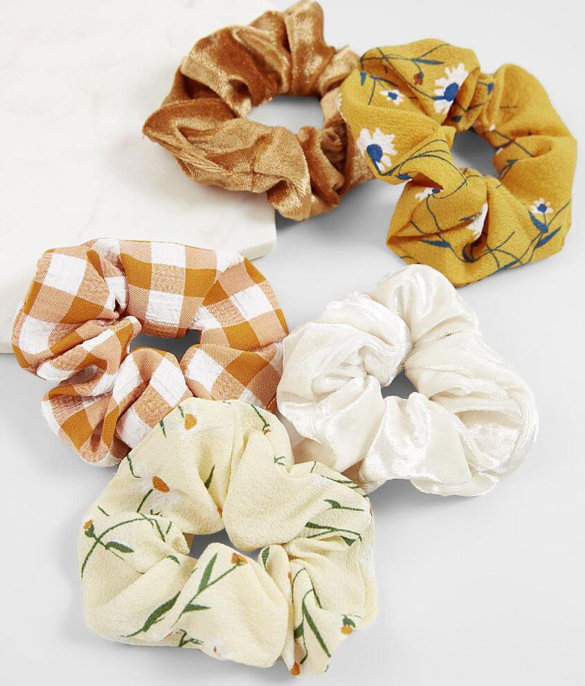 BKE 4 Pack Hair Scrunchies front view