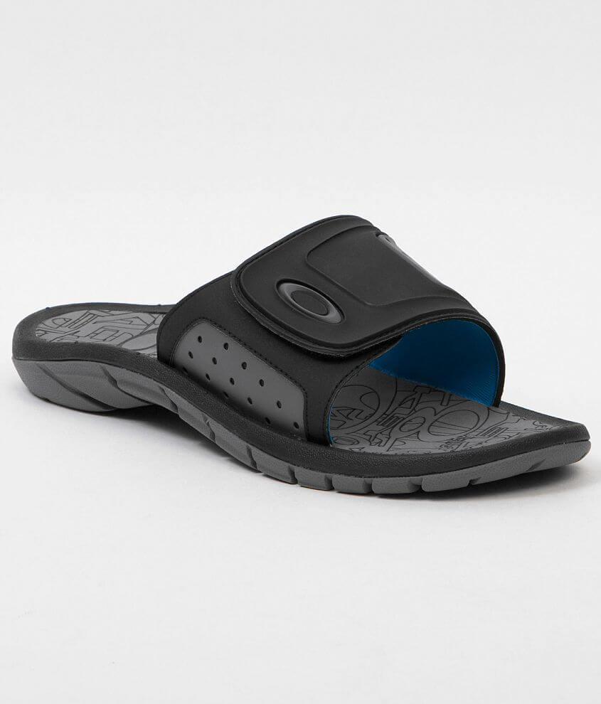 6249f120a1 Oakley SuperCoil Slide Sandal - Men s Shoes in Black Grey
