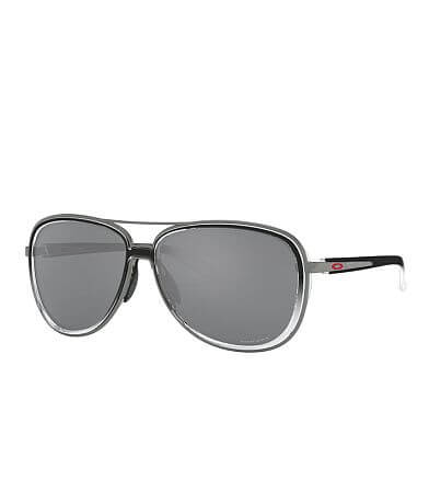 Oakley Split Time Polarized Aviator Sunglasses