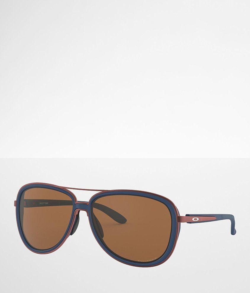 Oakley Split Time Polarized Prizm Sunglasses front view