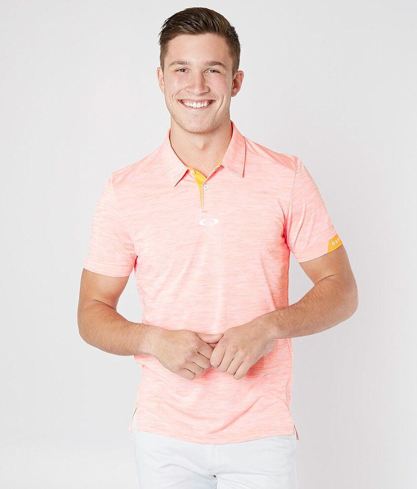 d406cb2261 Oakley Gravity O Hydrolix™ Polo - Men s Polos in Neon Orange
