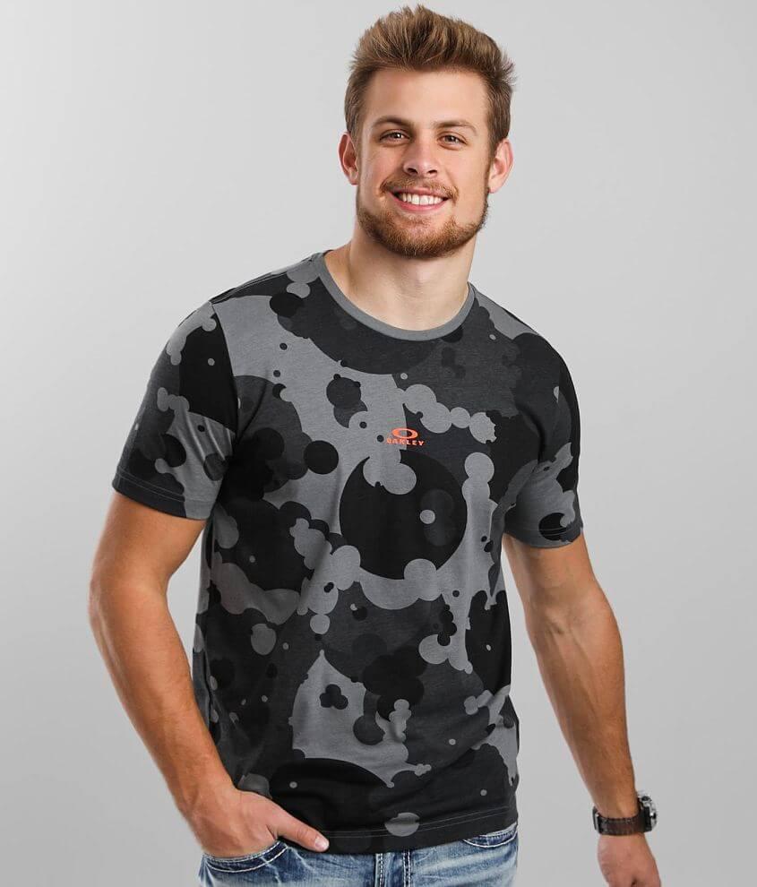 Oakley Camo Print T-Shirt front view