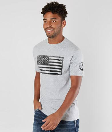 Oakley Infinite Hero Patriot Flag T-Shirt
