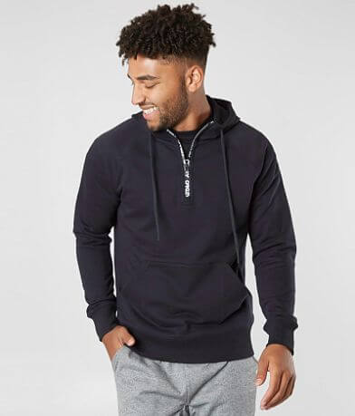 Oakley Street Logo Half Zip Hooded Sweatshirt