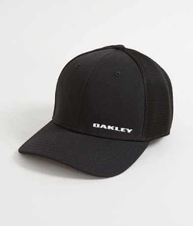 Oakley Silicone Bark Trucker Stretch Hat