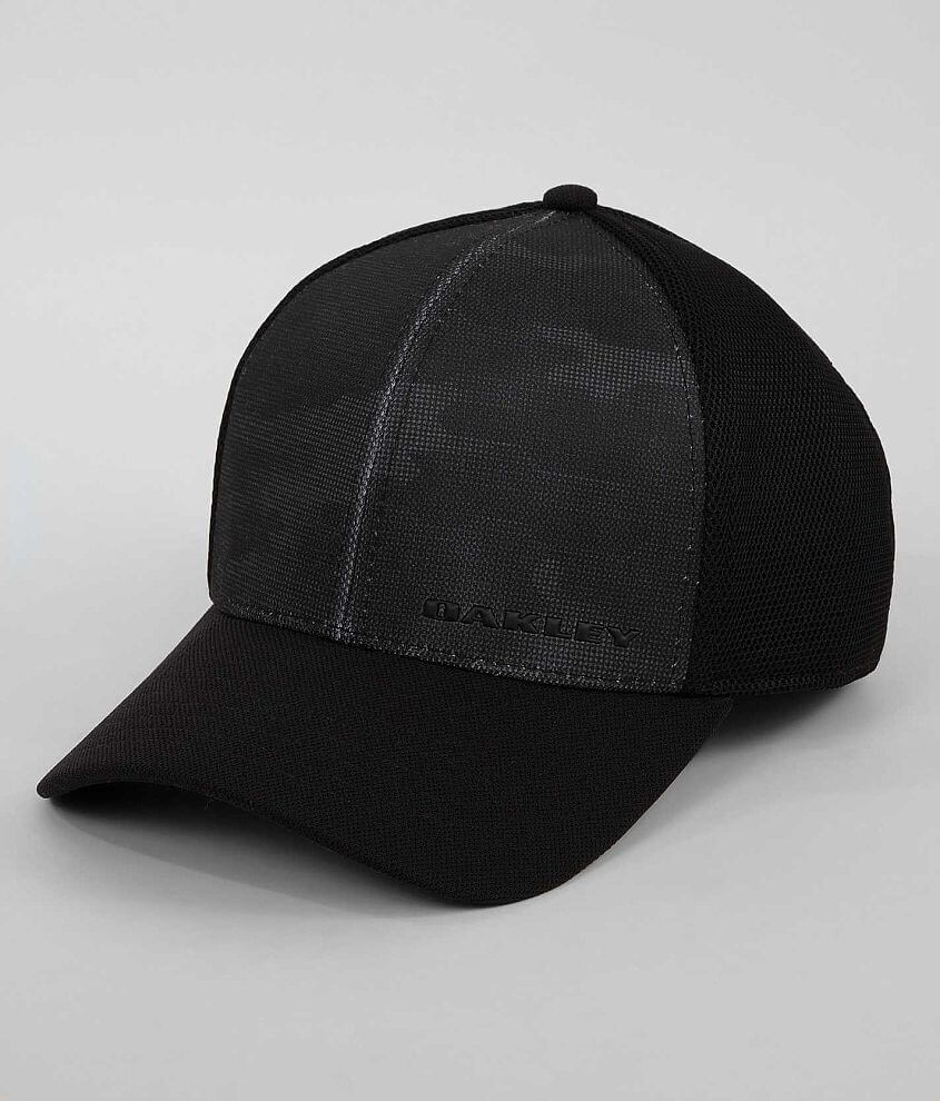 Oakley Silicone Bark Trucker Hat front view