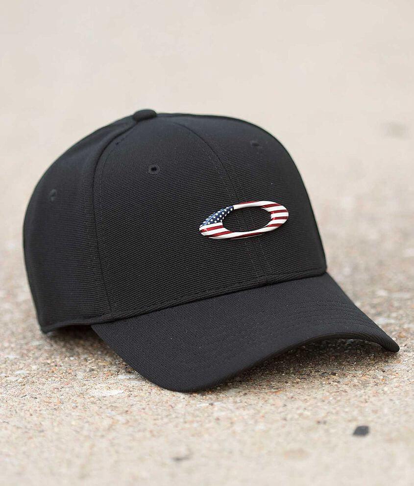 online store 822b0 72bb0 switzerland oakley tincan cap navy white 569a9 4b3da  norway oakley tincan  stretch hat mens hats in black american flag buckle 4f0c7 b3ba8