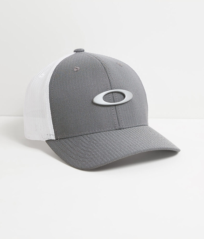 bf82eef2795bff ... cheap oakley tincan trucker hat mens hats in grey herringbone buckle  3360c 61196