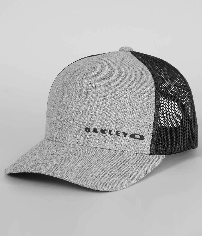 72f8fad7539cff Oakley Halifax Trucker Hat - Men's Hats in Shadow | Buckle