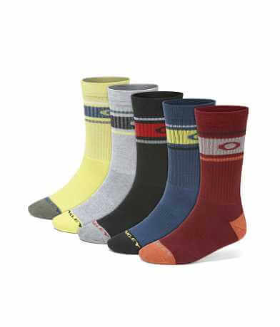 Oakley Performance Basic 5 Pack Socks