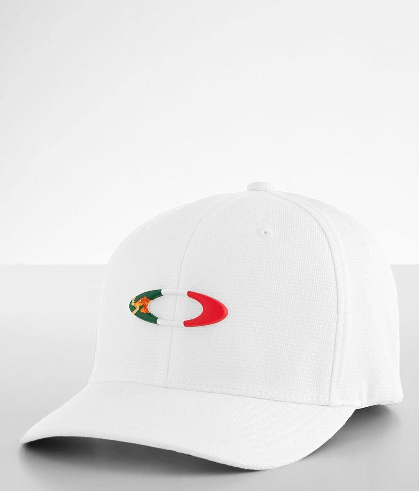 Oakley Tincan Mexico Flag Stretch Hat front view