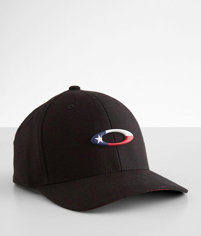 Oakley Tincan Texas Flag Stretch Hat front view