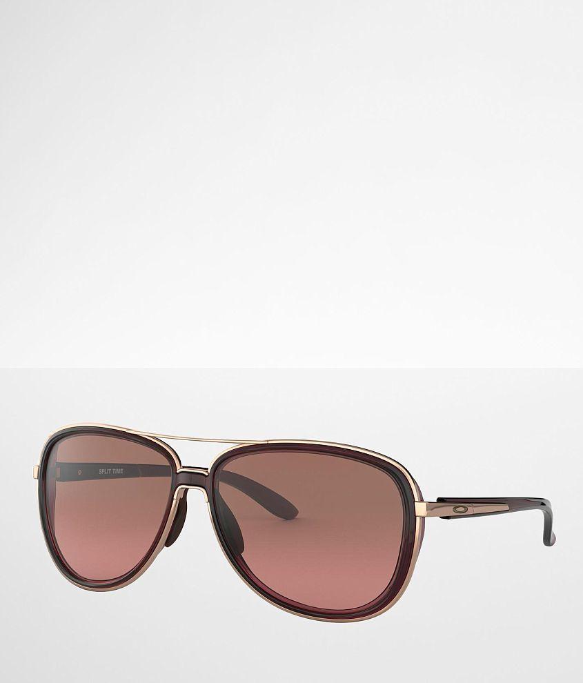 Oakley Split Time Aviator Sunglasses front view