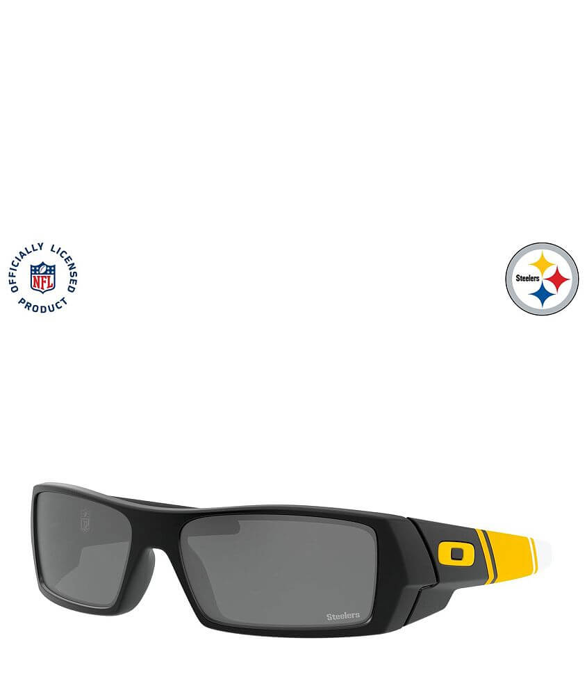 Oakley Gascan Pittsburgh Steelers Sunglasses front view