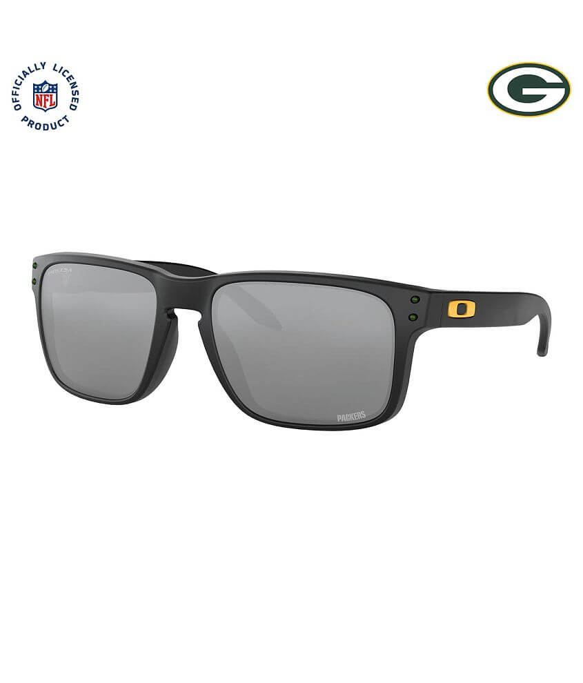 Oakley Holbrook Green Bay Packers Sunglasses front view