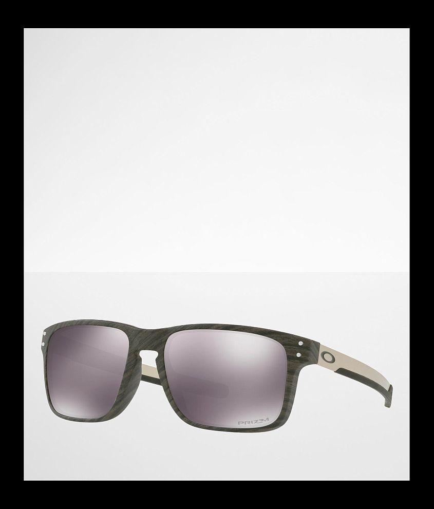 Oakley Holbrook Woodgrain Mix Prizm Sunglasses front view