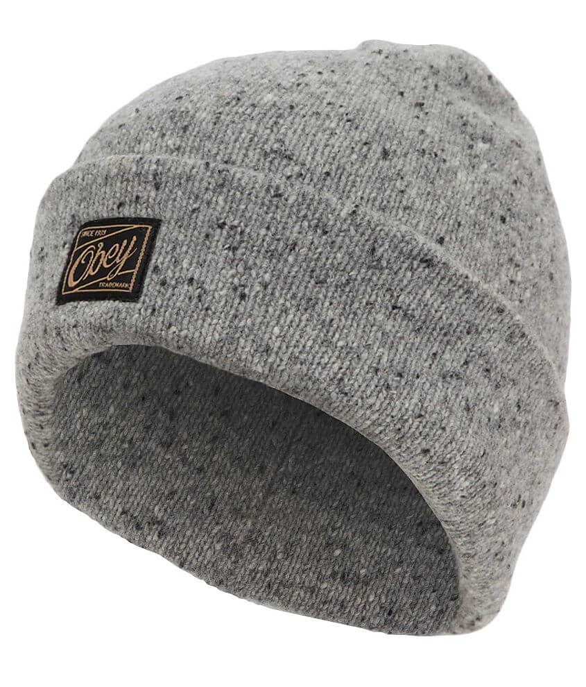 OBEY Jobber Luxe Beanie front view