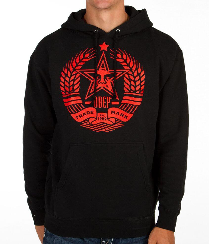 OBEY Star Crest Sweatshirt front view