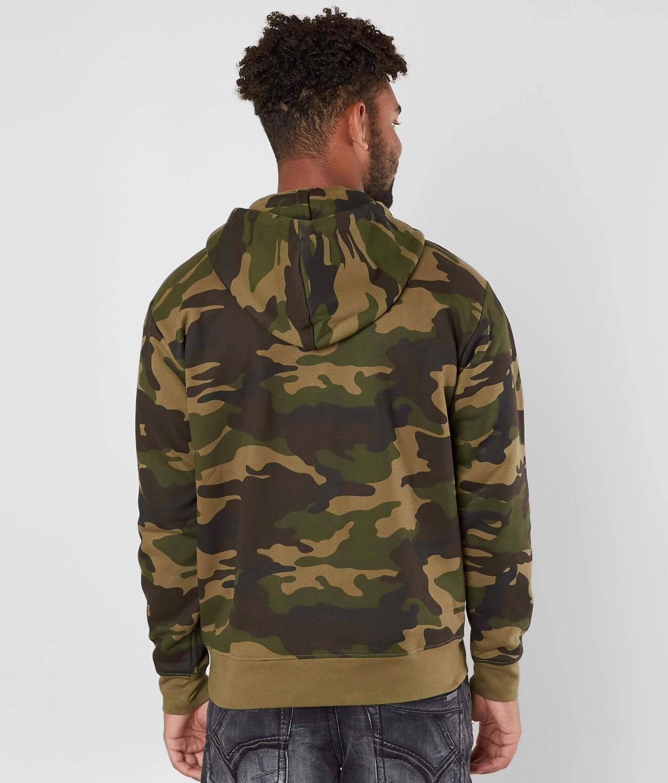 2e3428c284cf OBEY Reason Anorak Hooded Sweatshirt - Men s Sweatshirts in Field ...