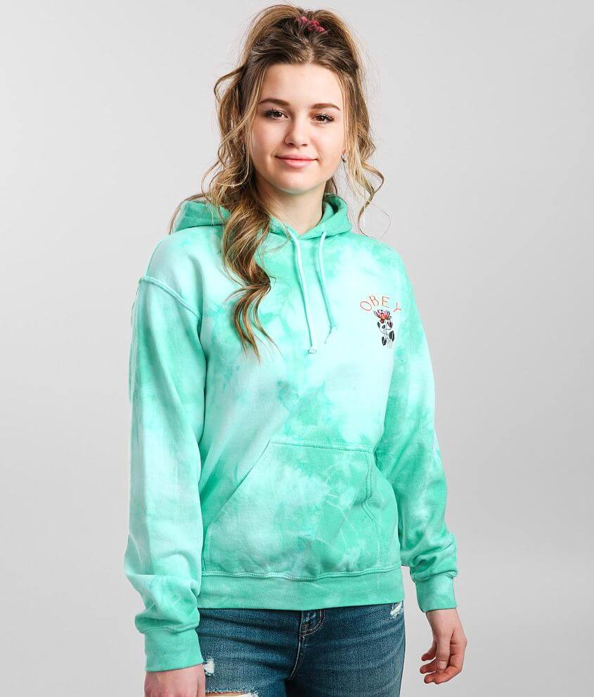 OBEY Soft Demand 2 Hooded Sweatshirt front view