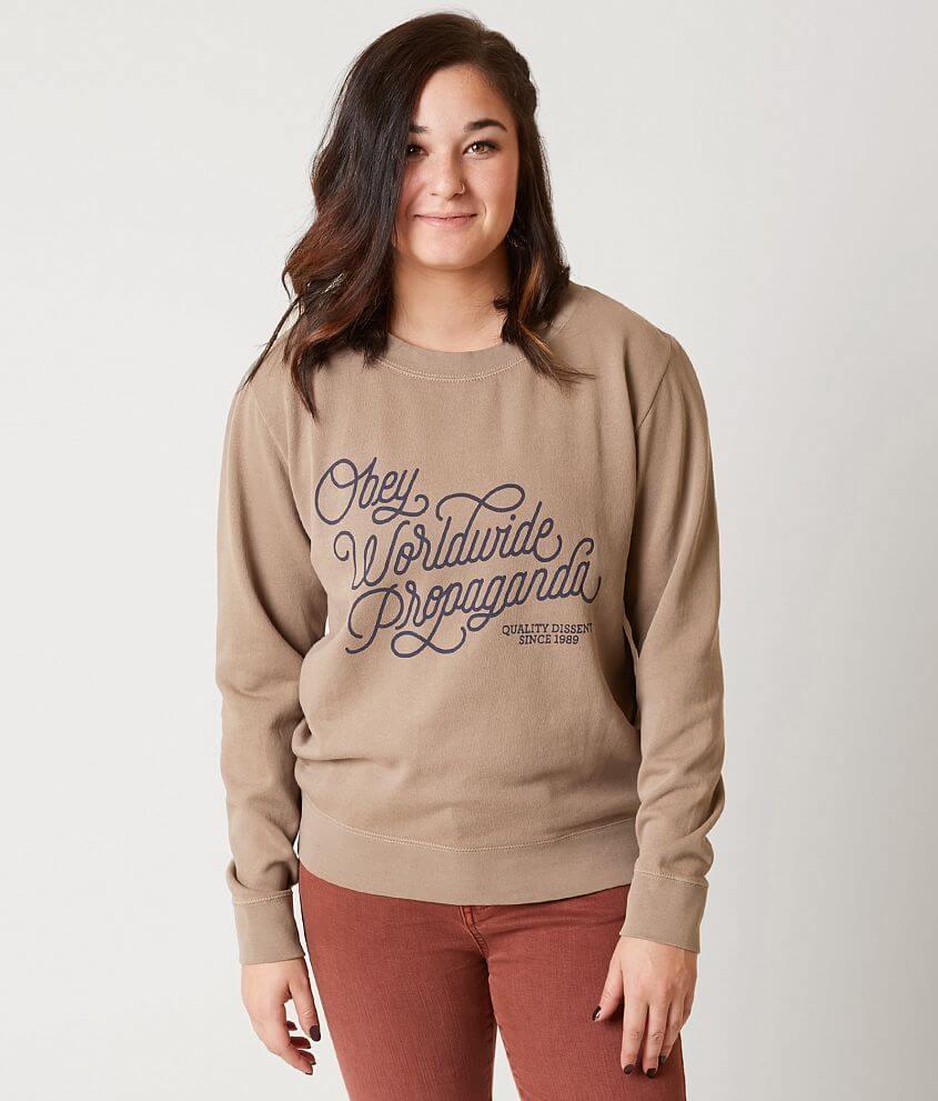 OBEY Worldwide Sweatshirt front view