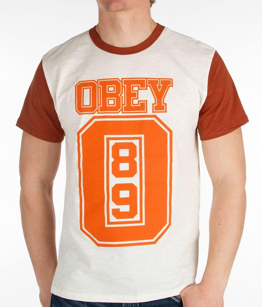 OBEY Jersey T-Shirt front view