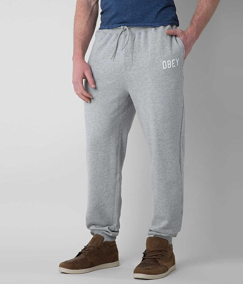 OBEY Global Sweatpant front view